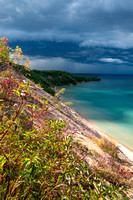 """Storm Over AuSable Point, Grand Marais"""