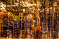 """Nature's Pictographs, Pictured Rocks National Lakeshore"""