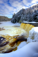 """Tahquamenon Falls, Winter Afternoon"""