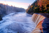 """An October Dawn"", Tahquamenon Falls"