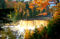 """Autumn Splendor, Tahquamenon Falls"""