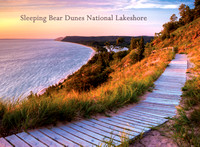 Empire Bluff Overlook Photo Magnet