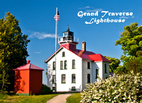 Grand Traverse Lighthouse Photo Magnet