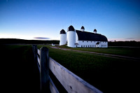 """Almost Dawn, D. H. Day Barn"""