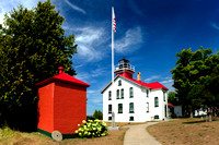 """Grand Traverse Lighthouse"""
