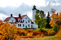 """Point Iroquois Light, Brimley, Michigan"""